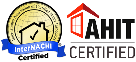 InterNACHI Certified and AHIT Certified home inspector